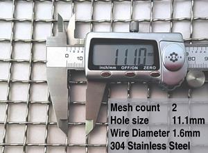 2 mesh specifications