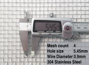 4(0.9mm) mesh specification