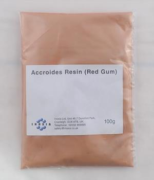 Accroides resin (red gum) 100g