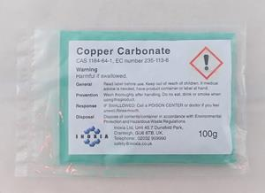 Copper carbonate 100g