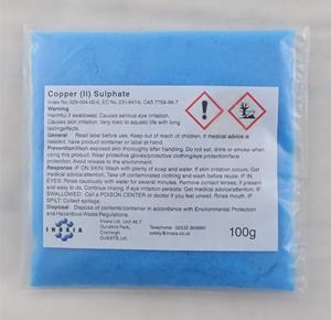 Copper (II) sulphate 100g