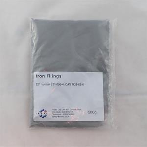 Iron filings bright 500g