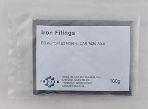Iron filings dark 100g