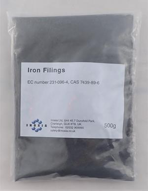 Iron filings dark 500g