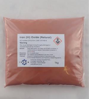 Iron (iii) oxide (natural) 1kg
