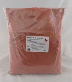 Iron (iii) oxide (natural) 6kg