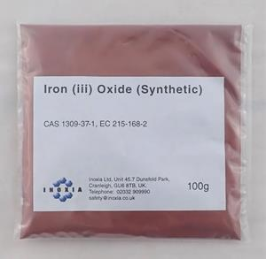 Iron (iii) oxide (synthetic) 100g