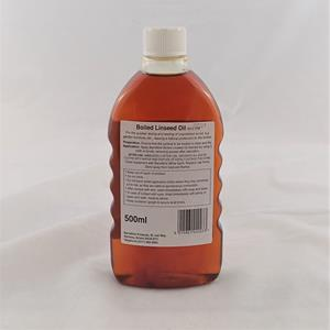 Boiled linseed oil 500ml back