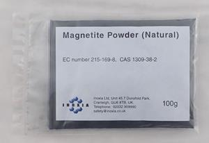 Magnetite powder (natural) 100g