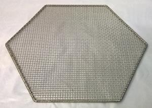 Hexagon shaped mesh grill