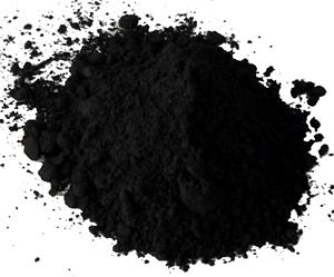 Magnetite powder and granules