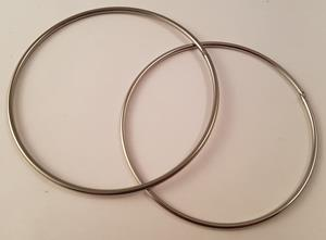 94mm and 100mm ID rings.